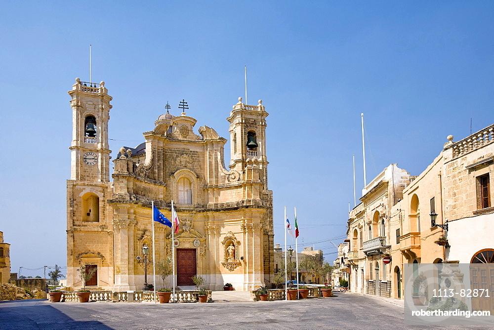 Church, Gharb, Gozo, Malta