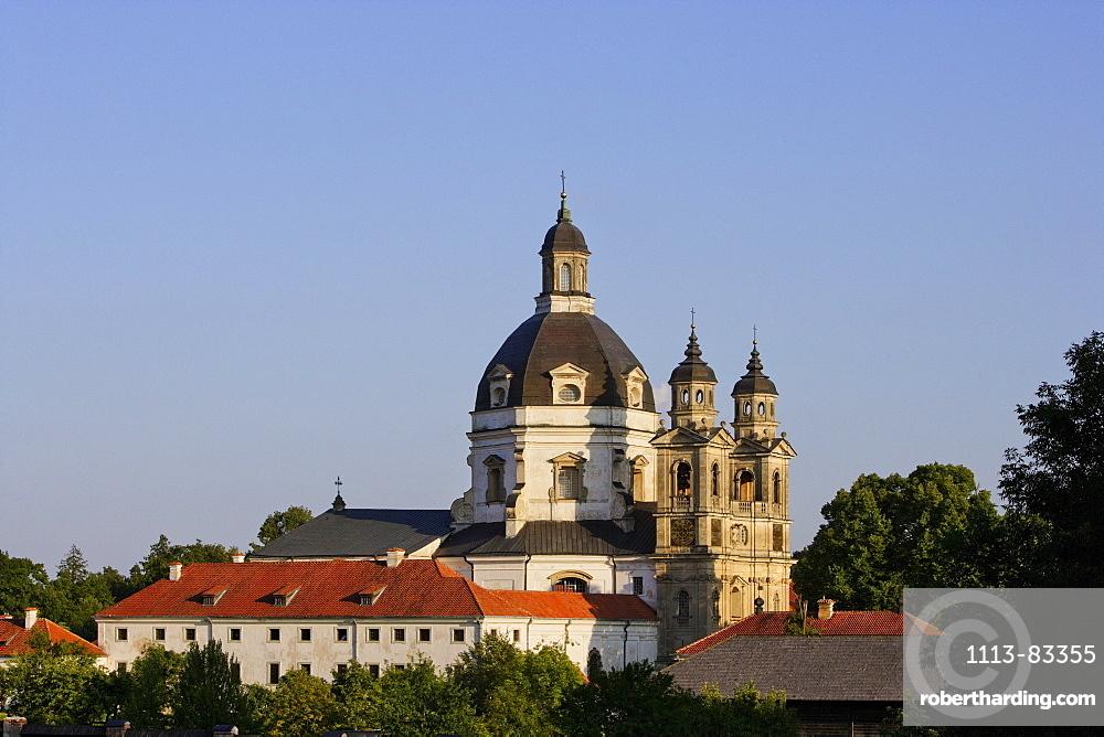 Pazaislis monastery, near Kaunas, Lithuania