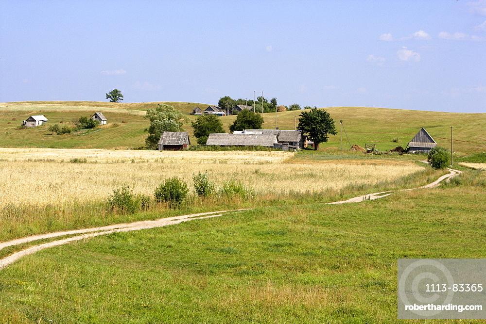 Landscape near Kaunas, Lithuania