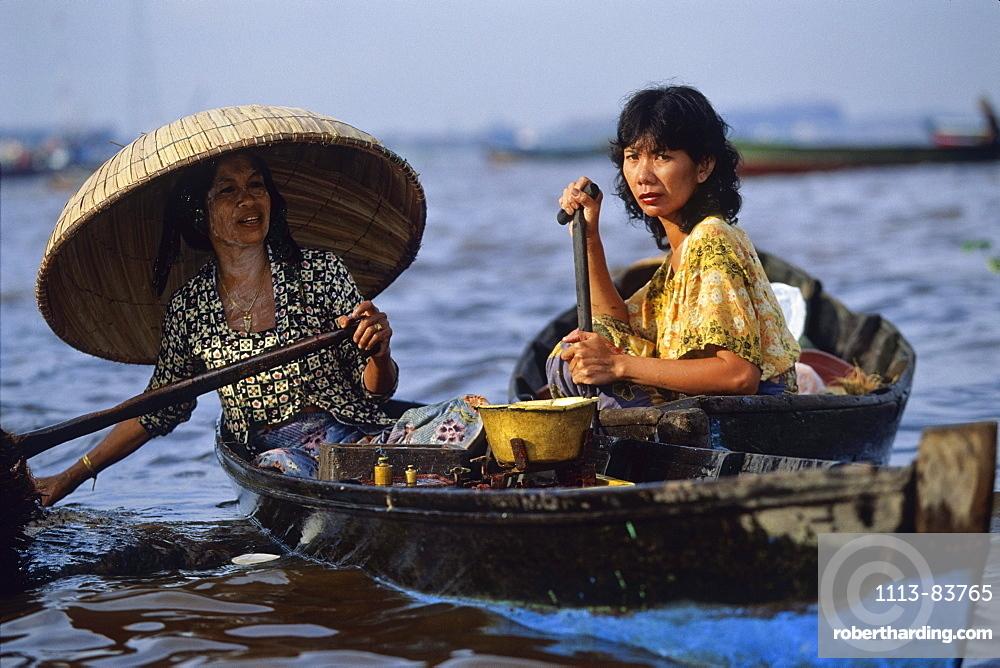 Floating Market, Banjarmasin, South Kalimantan, Indonesia
