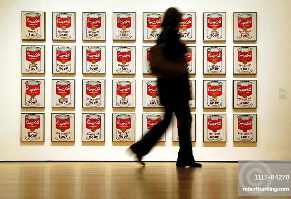 Museum of Modern Art, MoMa, Andy Warhole, New York City, New York, USA