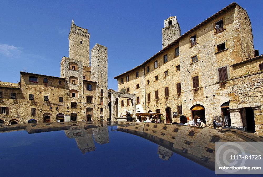 Italien, Toskana, San Gimignano, Geschlechtertürme