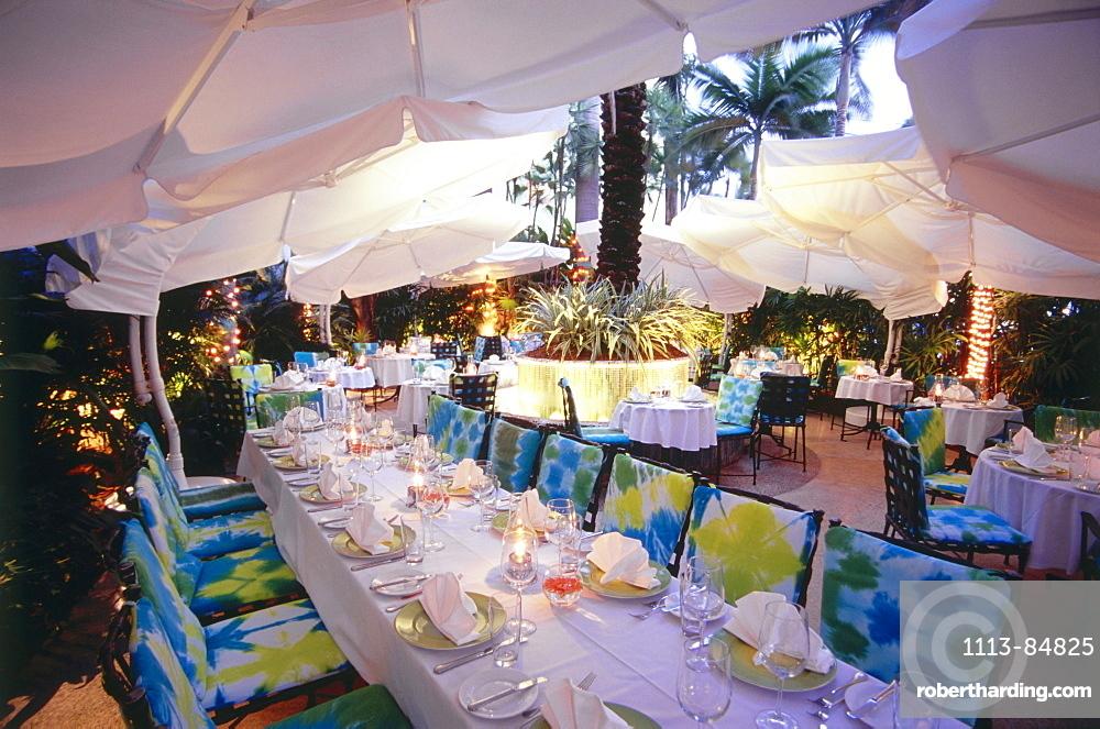 Wish Restaurant at The Hotel, South Beach, Miami, Florida, USA