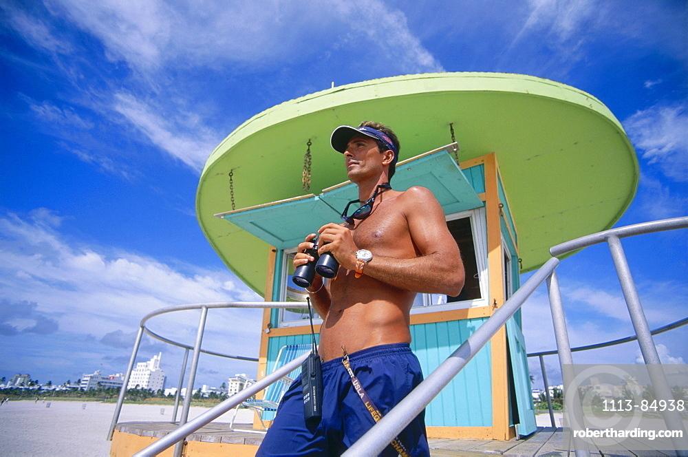 Lifeguard, South Beach, Miami, Florida, USA