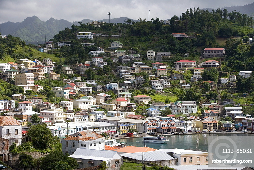 View from Fort George, St. George's, Grenada