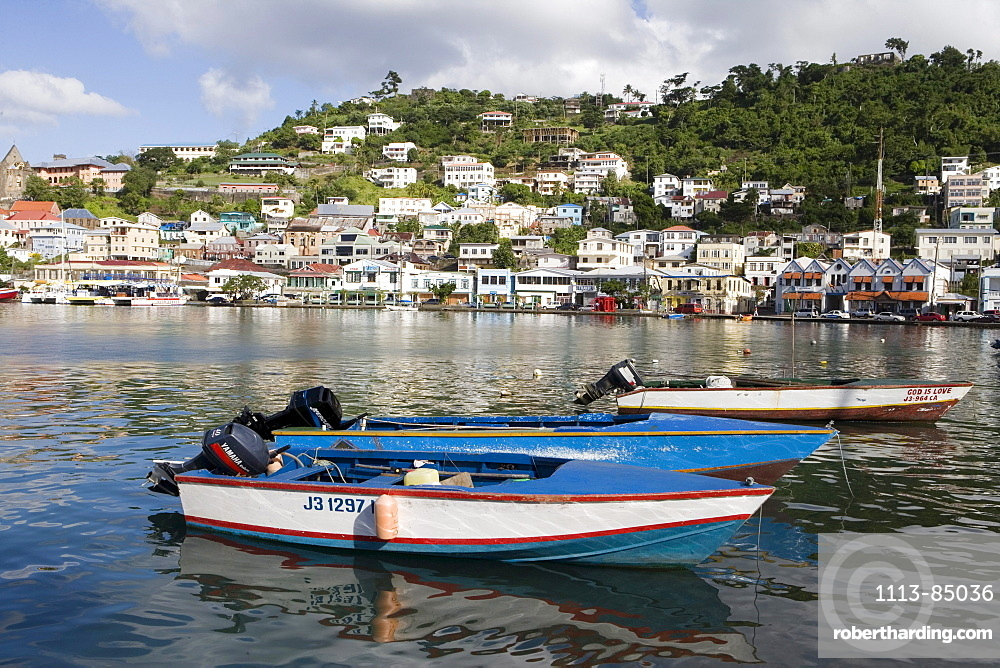 Fishing Boats in The Carenage, St. George's, Grenada