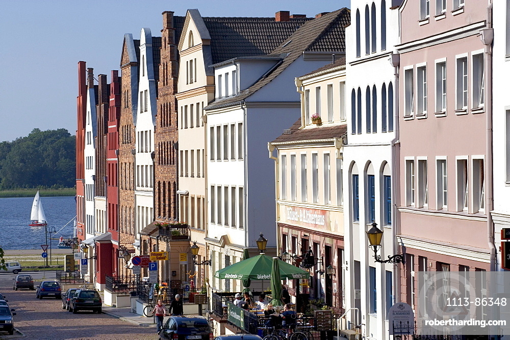 Wokrenten Street, Old Town, Rostock, Baltic Sea, Mecklenburg-Western Pomerania, Germany