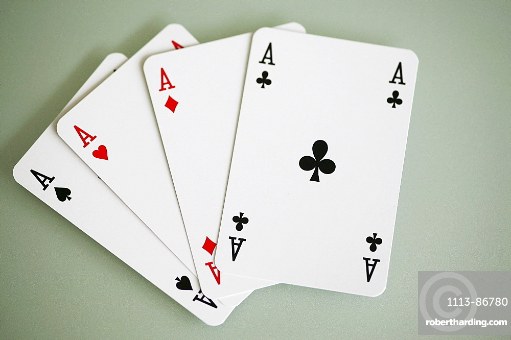 Playing cards, Close-up