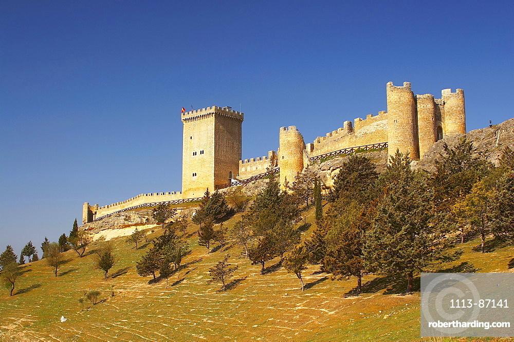 Penaranda de Duero castle, Castilla Leon, Spain