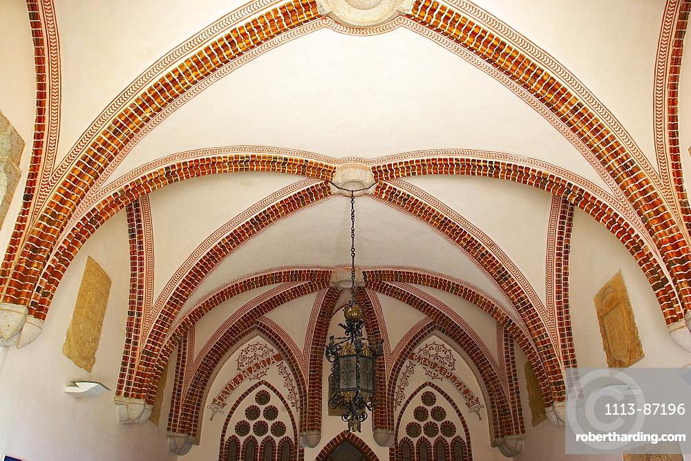 Inside the Episcopal Palace from architect Antoni Gaudi, Palacio Episcopal, Astorga, Castilla Leon, Spain