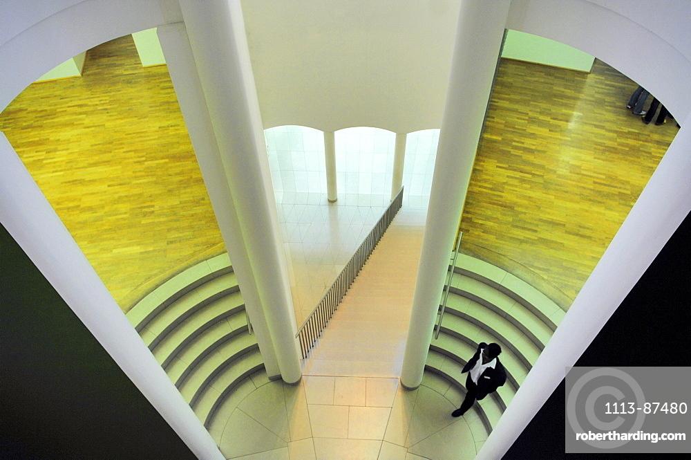 Museum for Modern Art, MMK, Modern Architecture, Frankfurt, Hesse, Germany