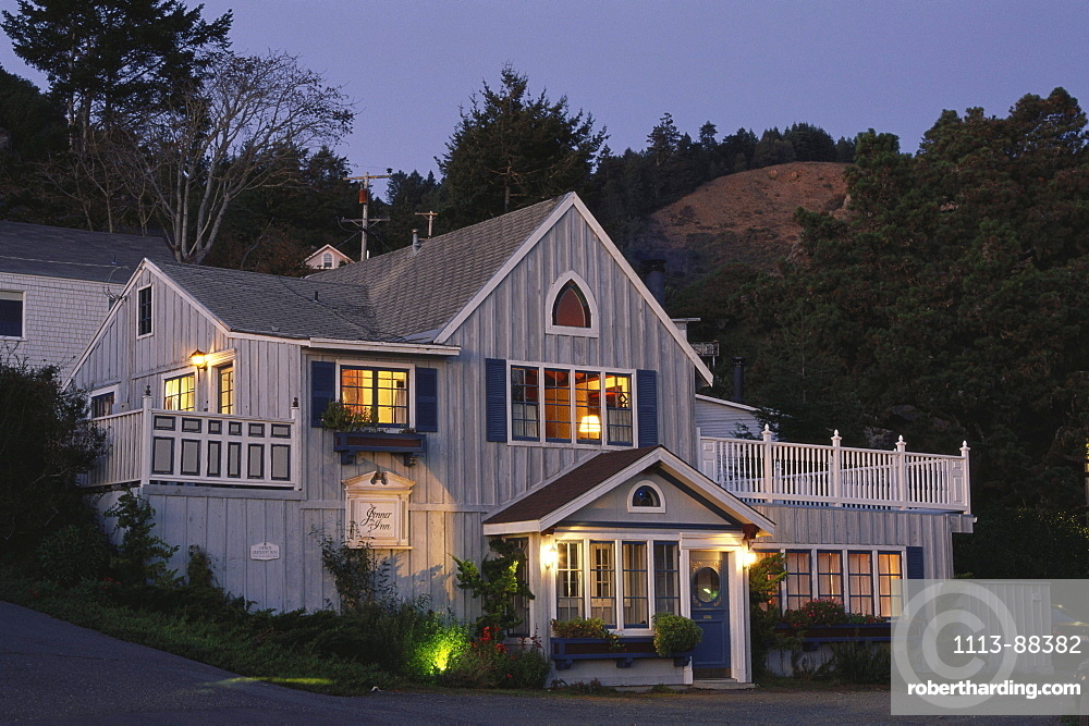 Jenner Inn, Jenner, Route No. 1, Sonoma Country, California, USA
