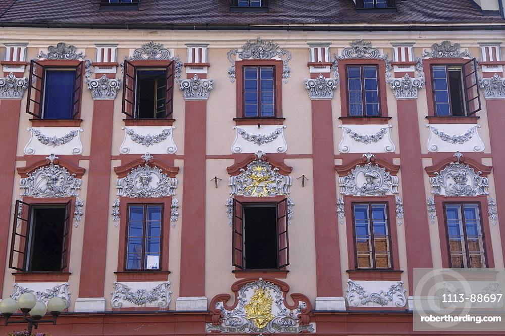 Historic building near Cheb Eger, Czech Republic