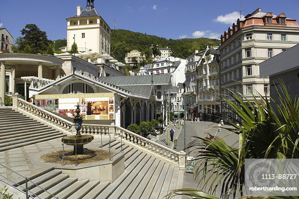Health resort Karlsbad, Czech Republic