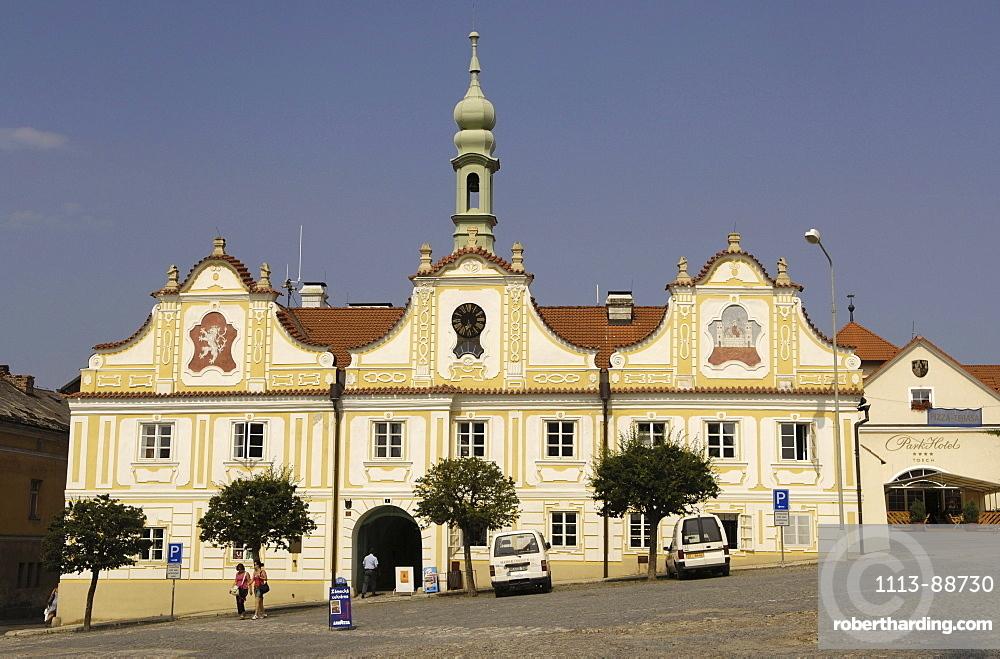 Townhall, Kasperske Hory, Czech Republic