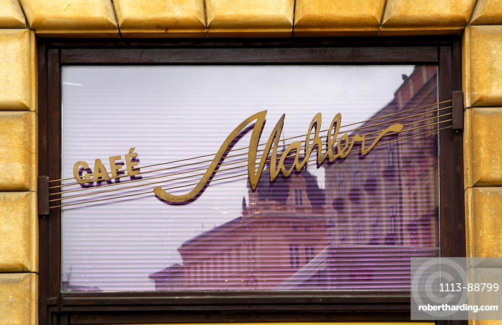 Cafe Mahler, Olomouc, Olmuetz, Czech Republic