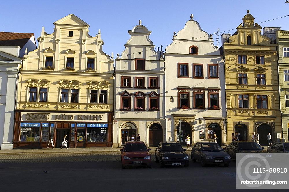 Old town in Pilsen, Czech Republic