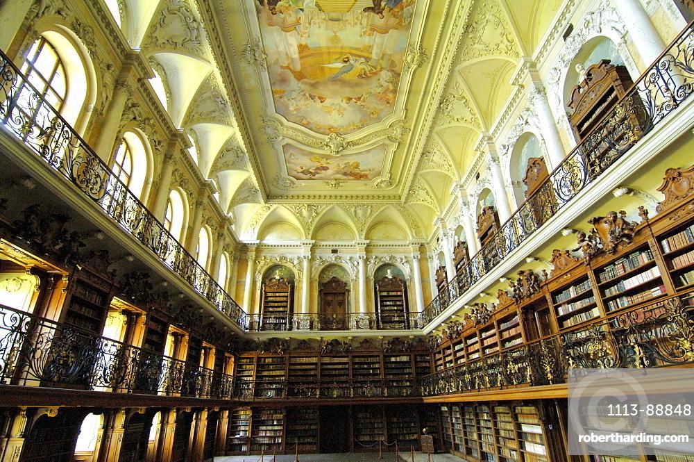 Monastic library, Tepla, Czech Republic