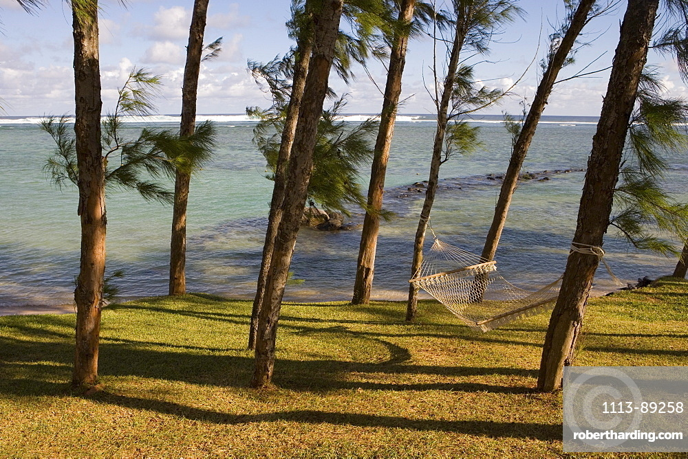 Hammock and Tree Shade, Moevenpick Resort and Spa Mauritius, Bel Ombre, Savanne District, Mauritius