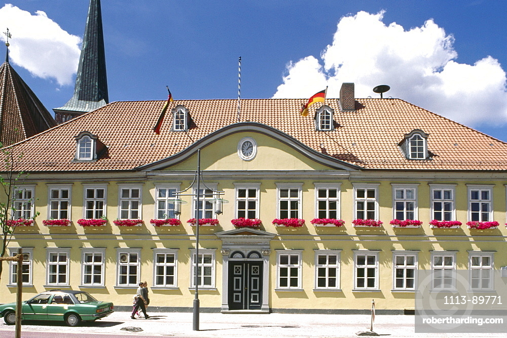 Town Hall in uelzen, Lower Saxony, Germany