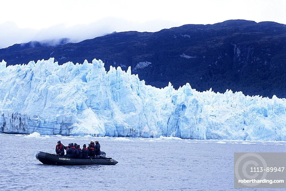 MS Europa Zodiac Excursion, Pio XI Glacier, Eyre Inlet, Patagonia, Chile