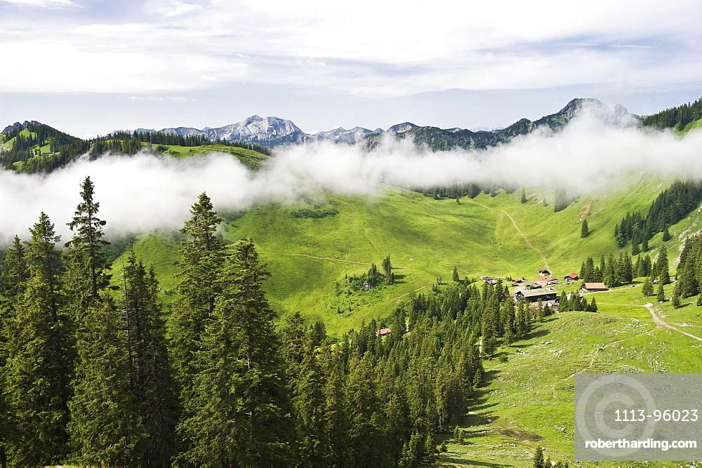 Obere Firstalm, mountain inn near Spitzingsee, Schliersee, Upper Bavaria, Bavaria, Germany
