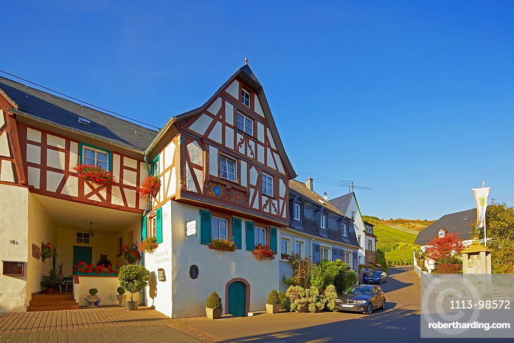 Hof der Grauen Schwestern in Kroev, Mosel, Rhineland-Palatinate, Germany, Europe