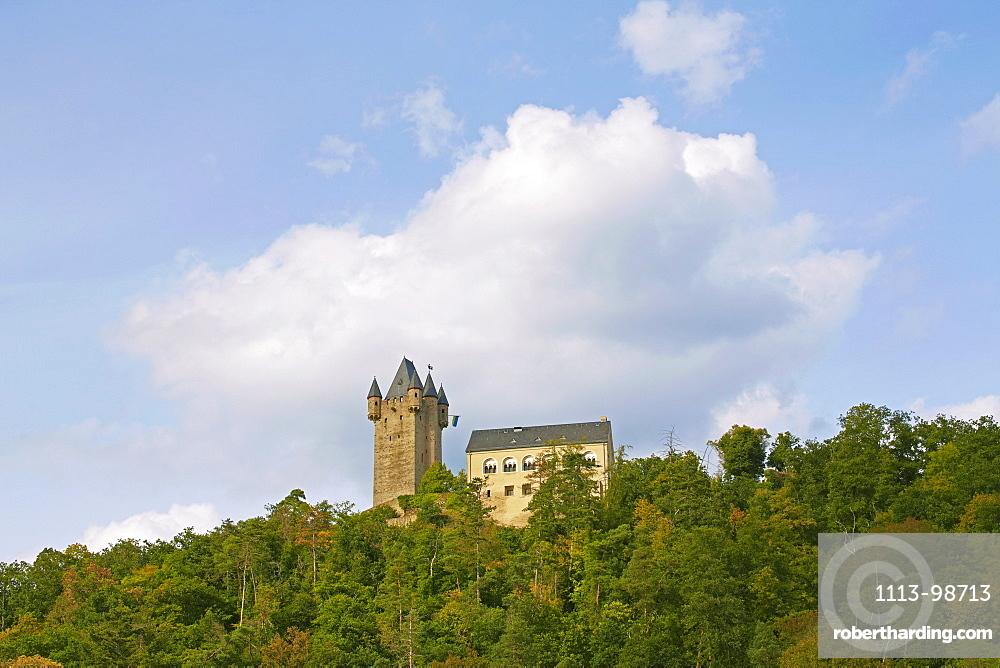 Nassau castle, Nassau, Lahn, Westerwald, Rhineland-Palatinate, Germany, Europe