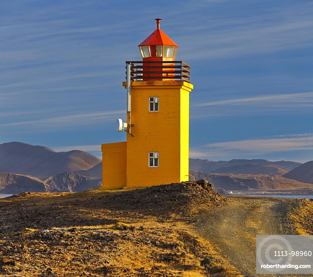 Hopsnes lighthouse, Reykjanes, Iceland
