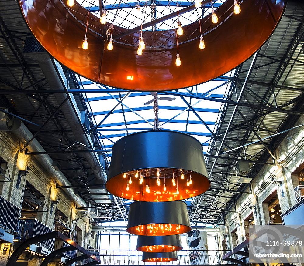 Interior of the Forks Marketplace, Winnipeg, Manitoba, Canada
