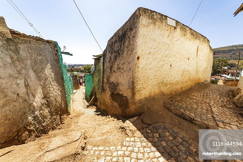 Street scene in Harar Jugol, the fortified historic town, Harar, Harari Region, Ethiopia