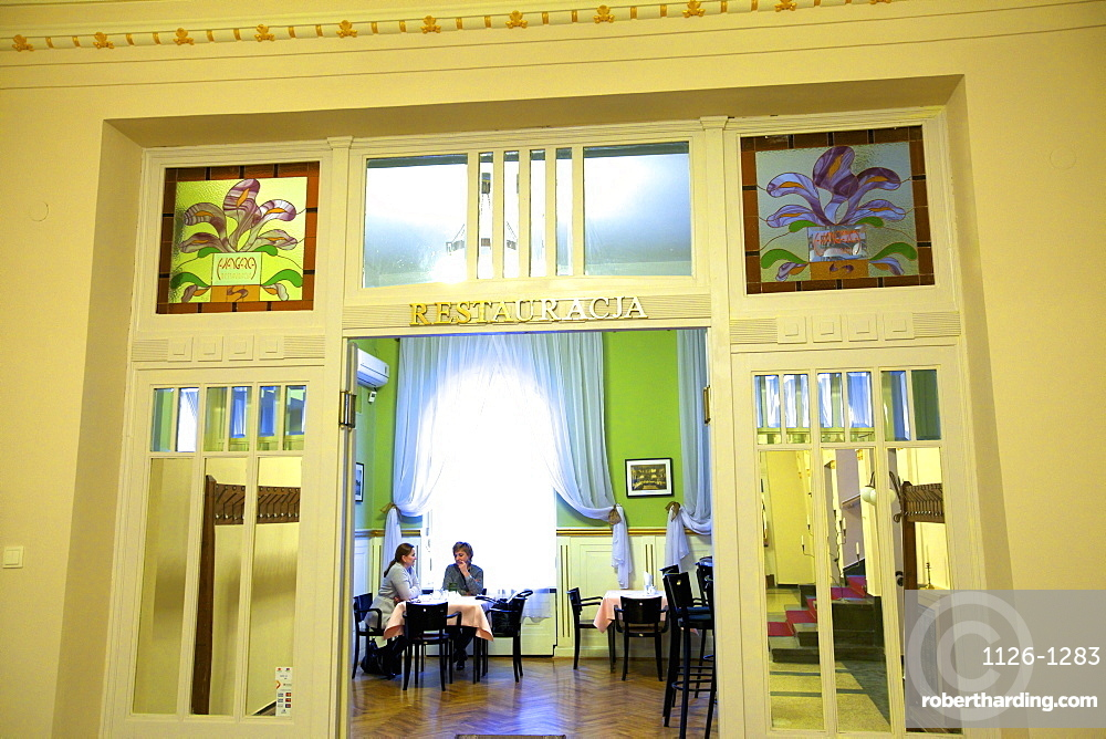Interior of Klub Garnizonowy, Krakow, Poland, Europe