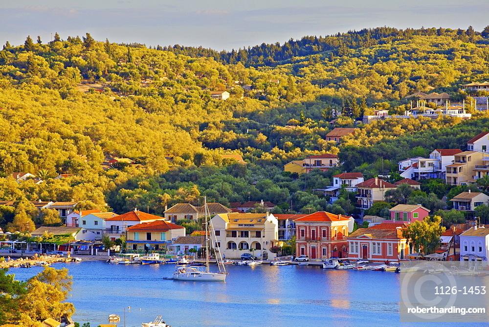 Gaios Harbour, Paxos, The Ionian Islands, Greek Islands, Greece, Europe