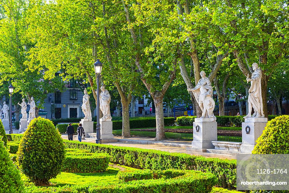 Plaza de Oriente, Madrid, Spain, Europe