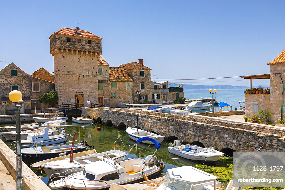 Kastel Gomilica, Dalmatian Coast, Croatia, Europe