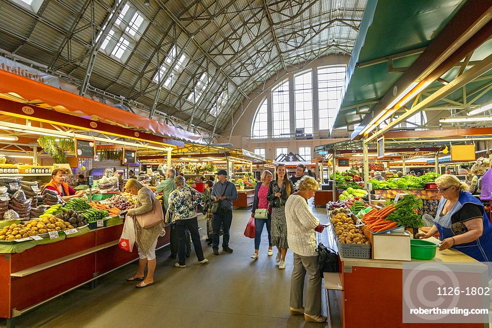 Central Market, Riga, Latvia, Europe