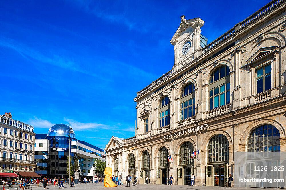 Lille-Flandres Railway Station, Lille, France, West Europe