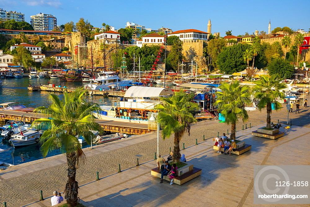 Antalya Harbour, Antalya, Turkey