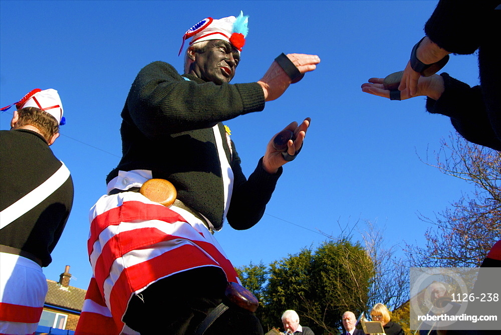 Coconut Dancers Traditional Easter Saturday Procession, Bacup, Lancashire, England, United Kingdom, Europe