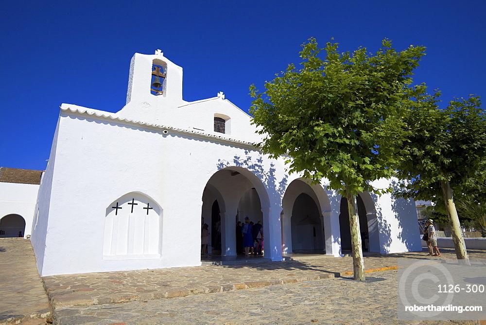 Church, Sant Carles De Peralta (San Carlos), Ibiza, Spain, Europe