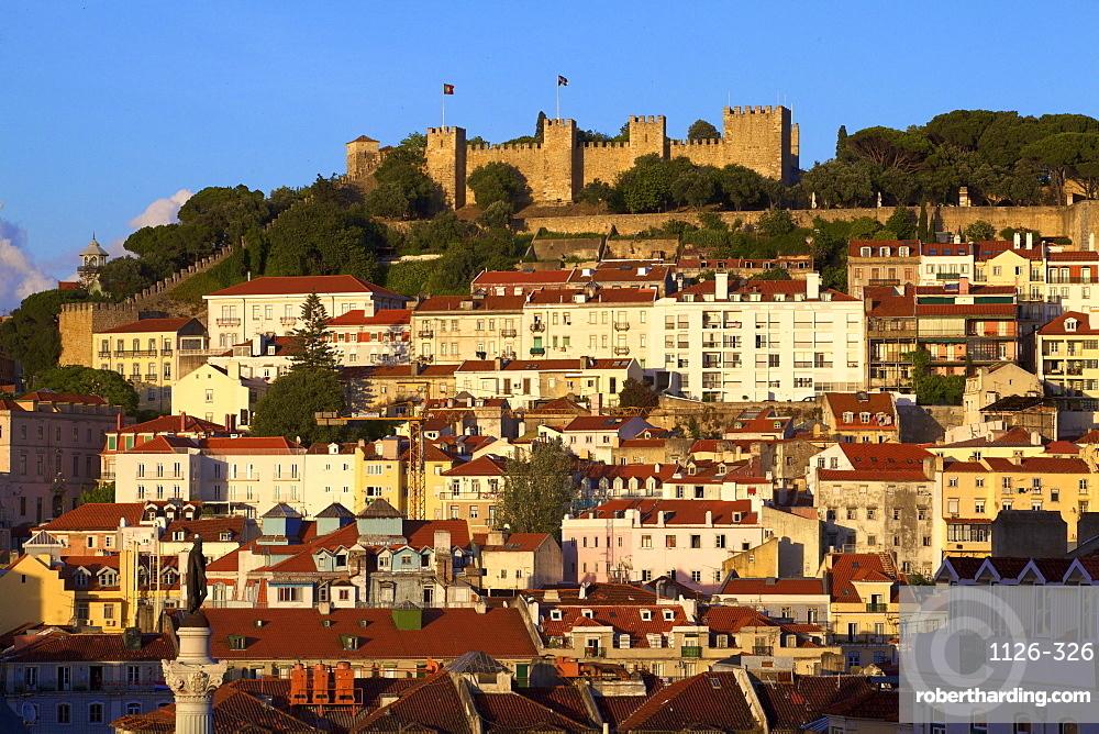 Castelo de Sao Jorge, Lisbon, Portugal, South West Europe
