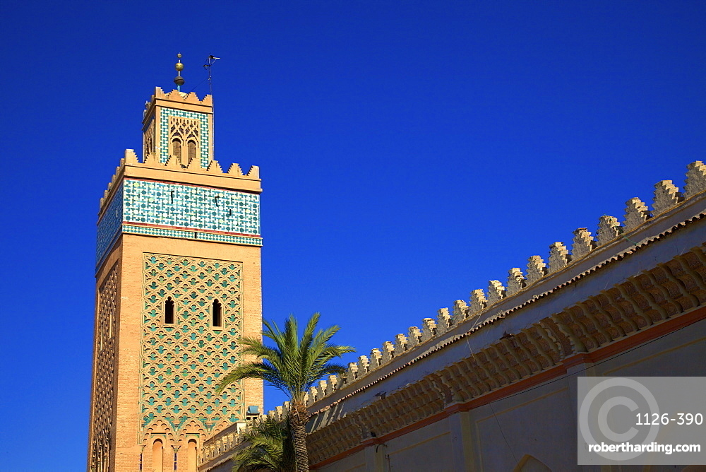 Kasbah Mosque, UNESCO World Heritage Site, Marrakech, Morocco, North Africa, Africa