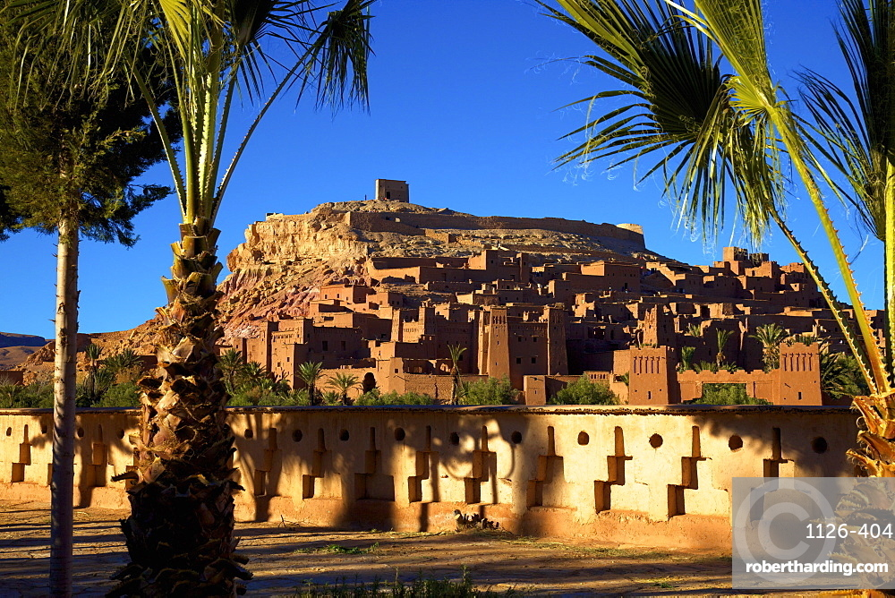 Ait-Benhaddou Kasbah, Morocco, North Africa