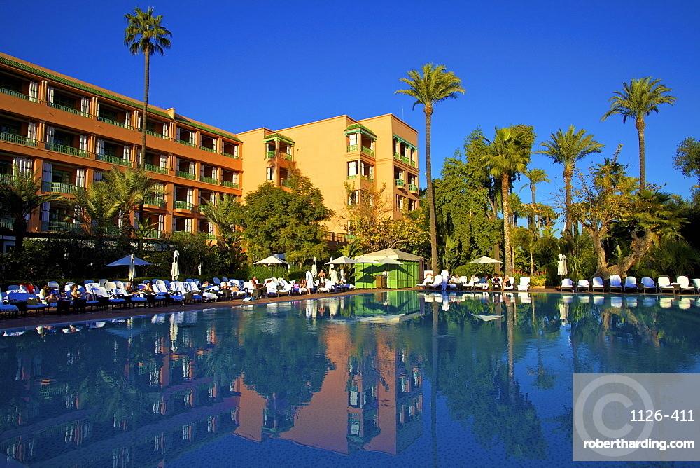 Mamounia Hotel, Marrakech, Morocco, North Africa, Africa