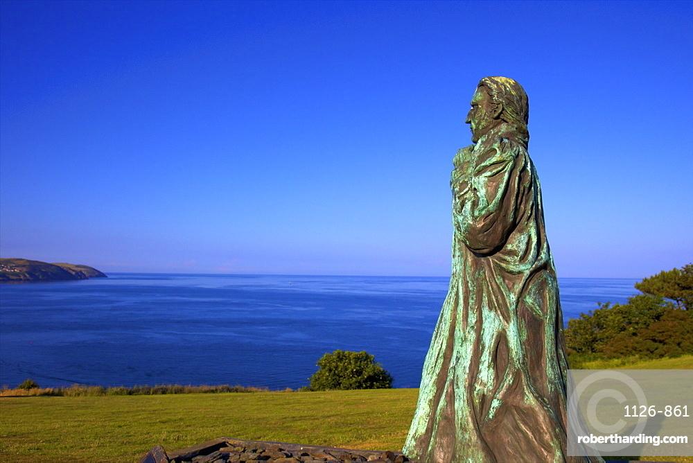 Statue of Sir William Hillary, Douglas, Isle of Man, Europe