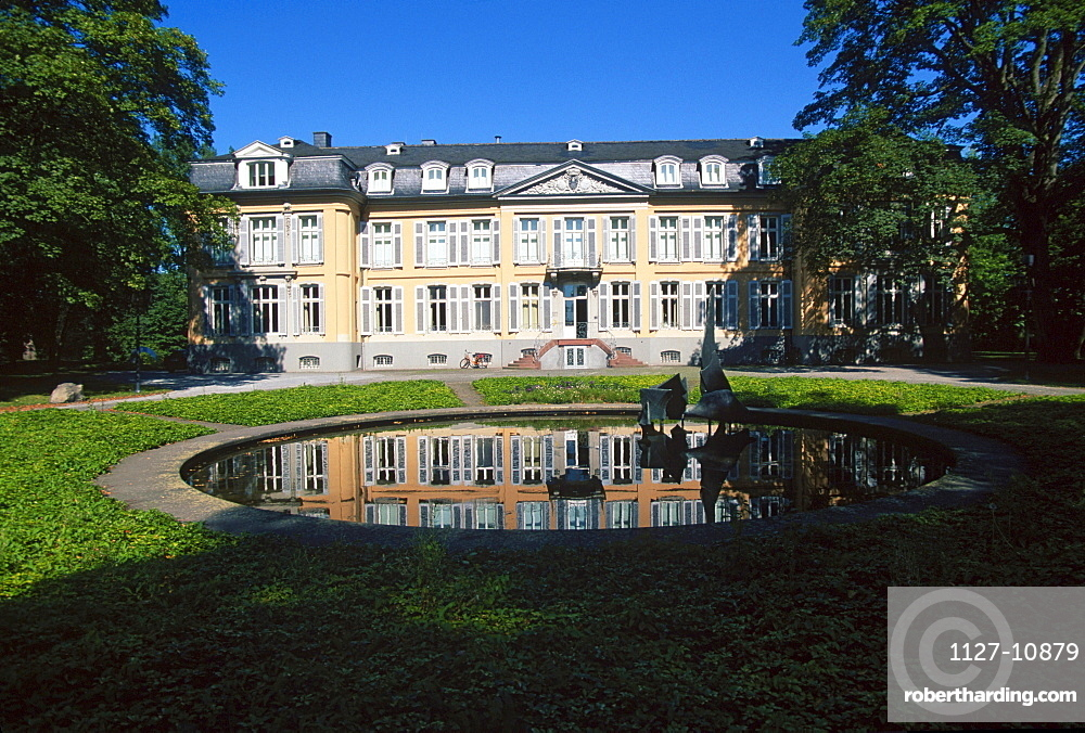 Castle Morsbroich, Leverkusen, North Rhine-Westphalia, Germany
