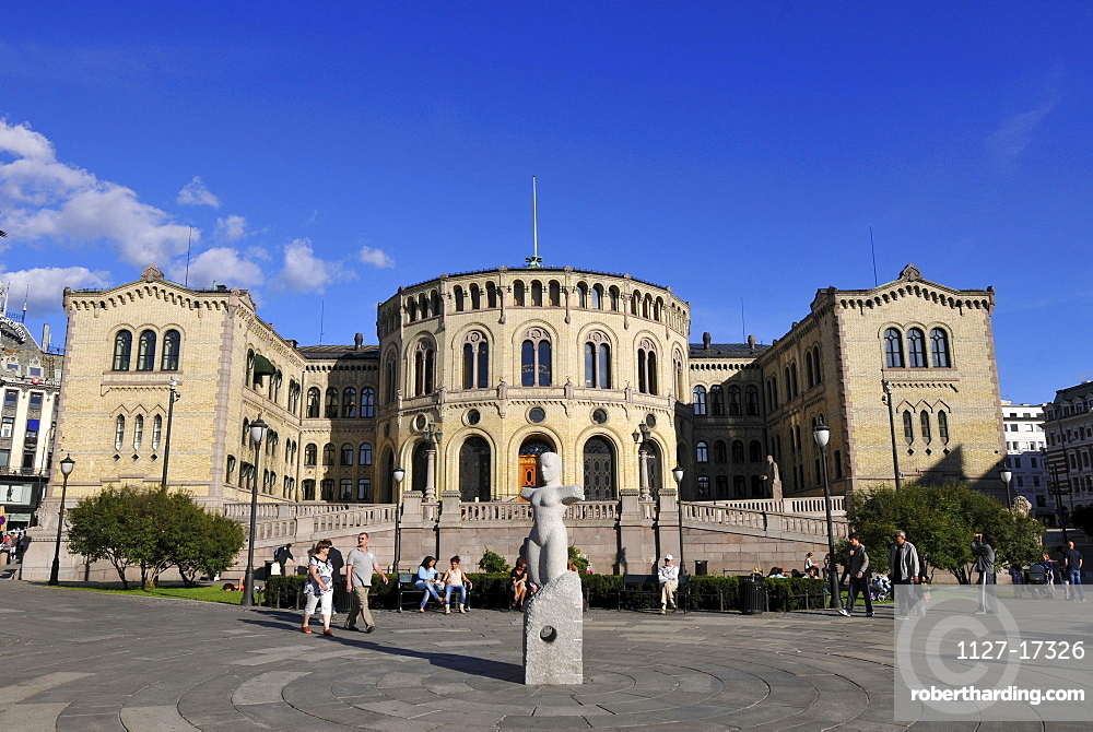Storting, Parliament of Norway, Oslo, Norway