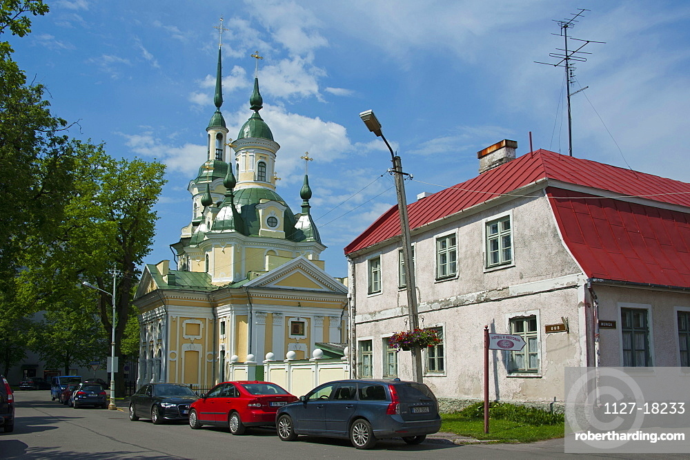 Church, Parnu, Estonia, Baltic states, Europe / Church of St Catherine the Great Martyr