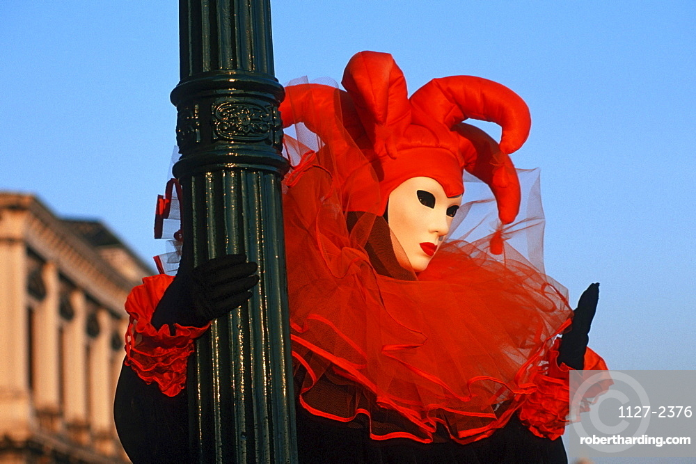 Human with carnival mask, Venice, Italy
