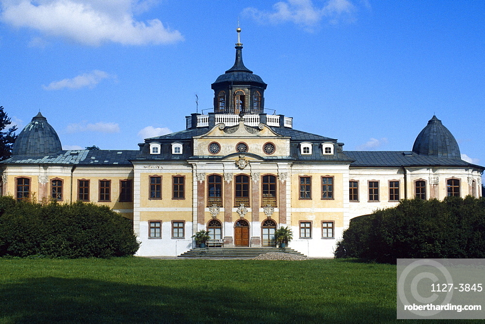 Castle Belvedere, Weimar, Thuringia, Germany